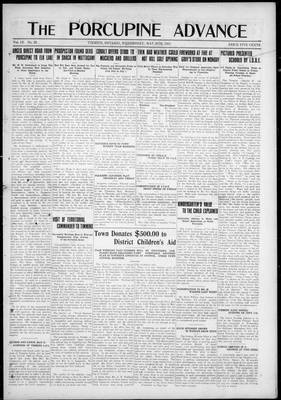 Porcupine Advance, 28 May 1924