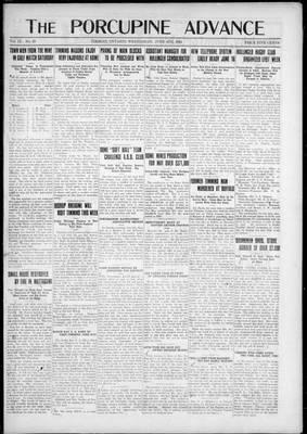 Porcupine Advance, 4 Jun 1924