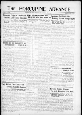 Porcupine Advance, 15 Oct 1924