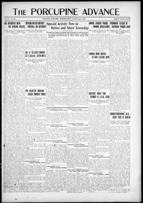 Porcupine Advance, 22 Apr 1925