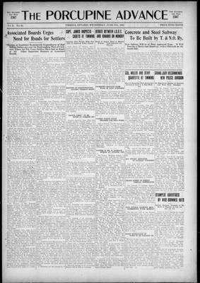 Porcupine Advance, 17 Jun 1925