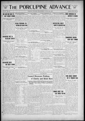 Porcupine Advance, 24 Jun 1925