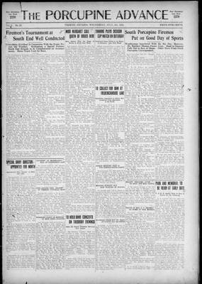 Porcupine Advance, 8 Jul 1925