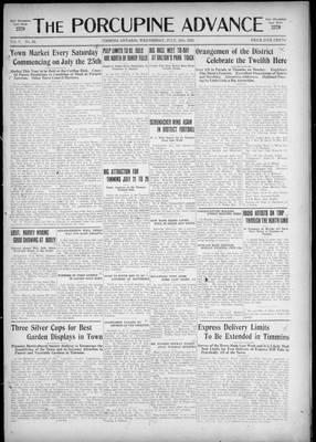Porcupine Advance, 15 Jul 1925