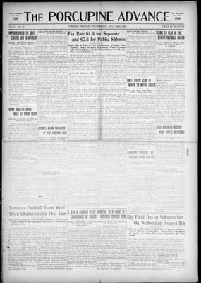 Porcupine Advance, 29 Jul 1925