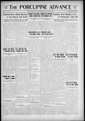 Porcupine Advance, 26 Aug 1925