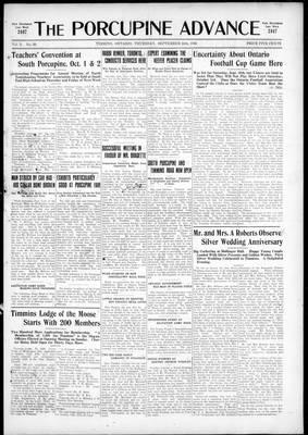 Porcupine Advance, 24 Sep 1925