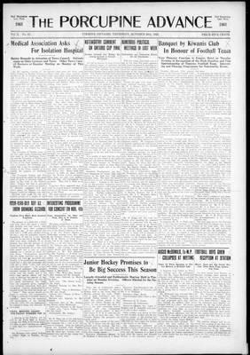 Porcupine Advance, 29 Oct 1925
