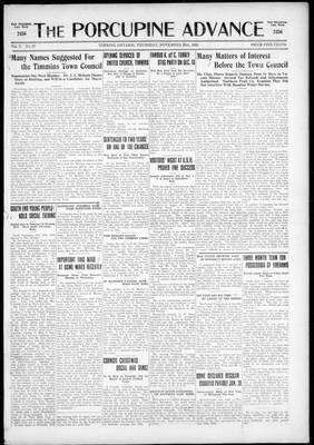 Porcupine Advance, 26 Nov 1925