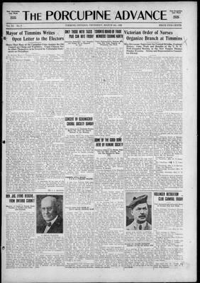 Porcupine Advance, 4 Mar 1926