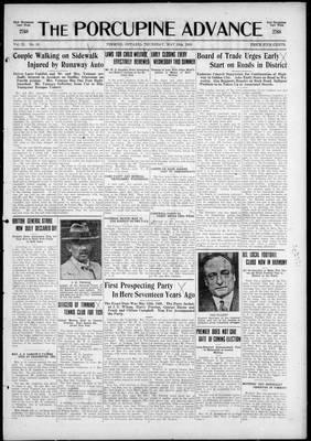 Porcupine Advance, 13 May 1926