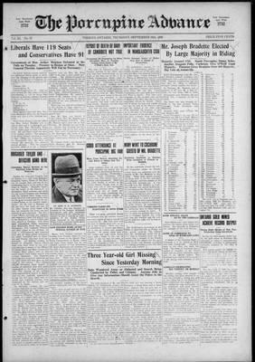 Porcupine Advance, 16 Sep 1926