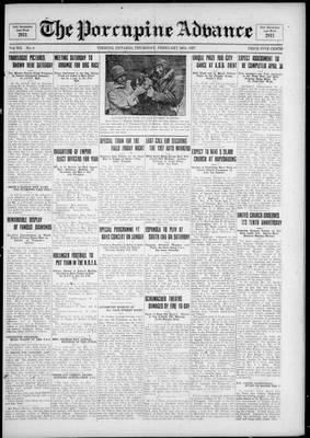 Porcupine Advance, 24 Feb 1927
