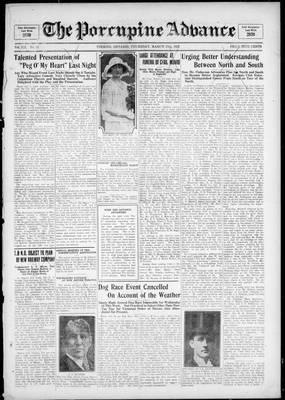 Porcupine Advance, 17 Mar 1927