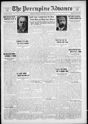 Porcupine Advance, 12 May 1927