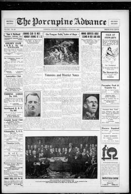 Porcupine Advance, 2 Jun 1927