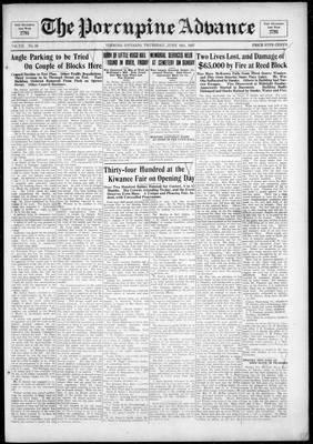 Porcupine Advance, 16 Jun 1927