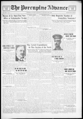Porcupine Advance, 19 Jan 1928