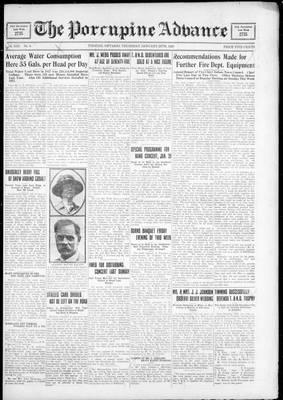 Porcupine Advance, 26 Jan 1928