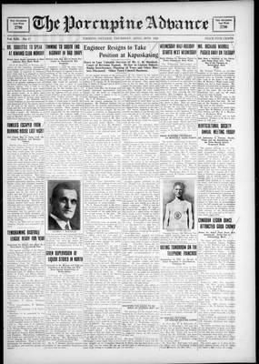 Porcupine Advance, 26 Apr 1928