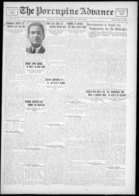 Porcupine Advance, 24 May 1928