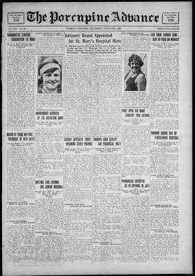 Porcupine Advance, 7 Jun 1928