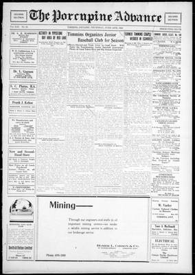 Porcupine Advance, 21 Jun 1928