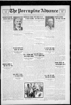 Porcupine Advance, 19 Jul 1928
