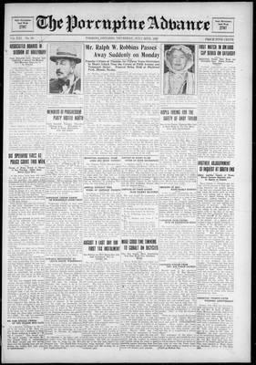 Porcupine Advance, 26 Jul 1928