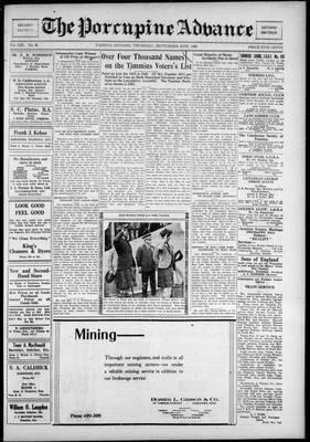Porcupine Advance, 20 Sep 1928