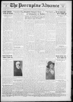Porcupine Advance, 4 Oct 1928