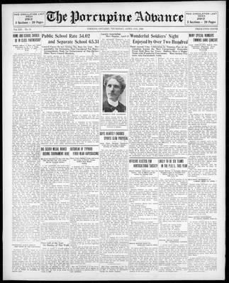 Porcupine Advance, 11 Apr 1929