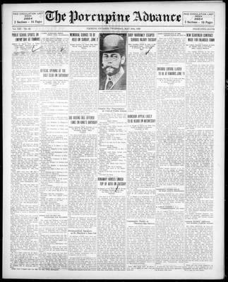 Porcupine Advance, 30 May 1929