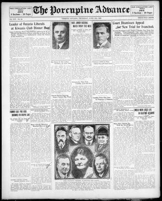 Porcupine Advance, 13 Jun 1929