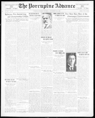 Porcupine Advance, 19 Sep 1929