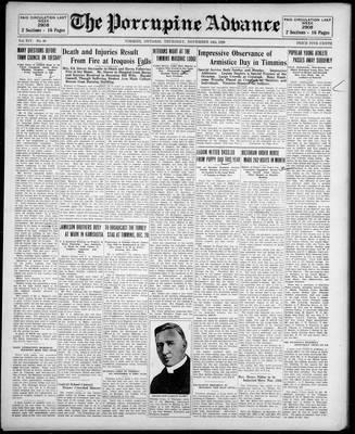 Porcupine Advance, 14 Nov 1929