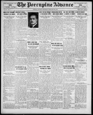 Porcupine Advance, 6 Feb 1930