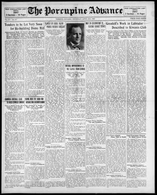 Porcupine Advance, 24 Apr 1930