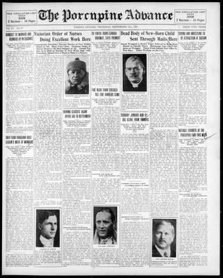 Porcupine Advance, 11 Sep 1930