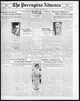 Porcupine Advance, 2 Oct 1930