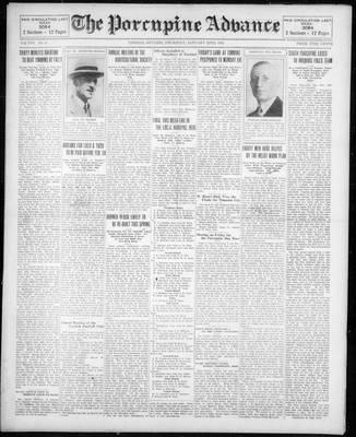 Porcupine Advance, 22 Jan 1931