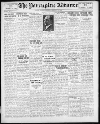 Porcupine Advance, 5 Feb 1931