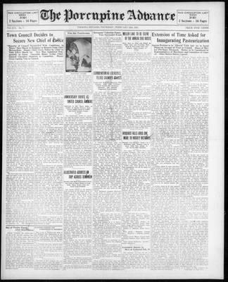Porcupine Advance, 12 Feb 1931