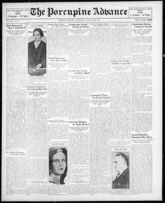 Porcupine Advance, 30 Apr 1931