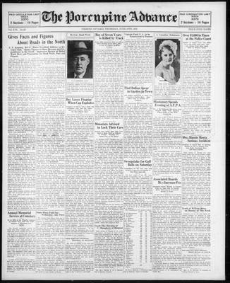 Porcupine Advance, 18 Jun 1931