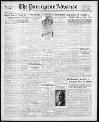 Porcupine Advance, 27 Aug 1931