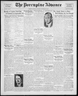 Porcupine Advance, 1 Oct 1931