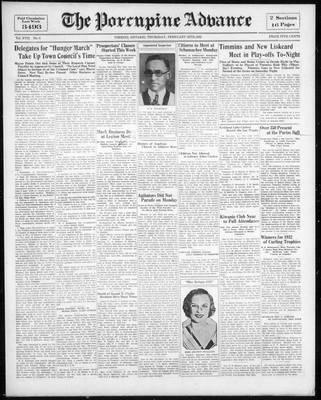 Porcupine Advance, 25 Feb 1932