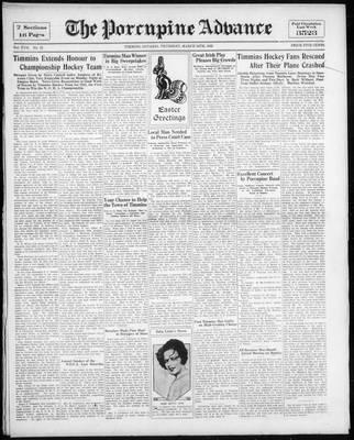 Porcupine Advance, 24 Mar 1932