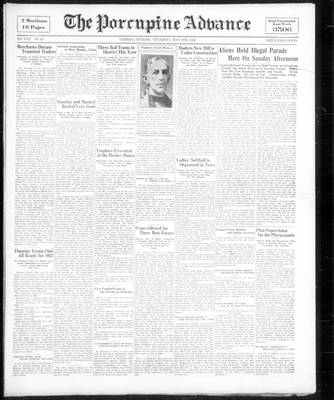 Porcupine Advance, 5 May 1932